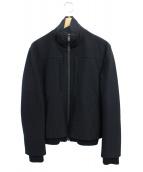 Martin Margiela14(マルタンマルジェラ14)の古着「 リブデザインジップアップジャケット」