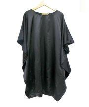 Karen Zambos(カレンザンボス)の古着「ワイドワンピース」|ブラック