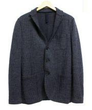 HARRIS WHARF LONDON(ハリス・ワーフ・ロンドン)の古着「3Bジャケット」 グレー