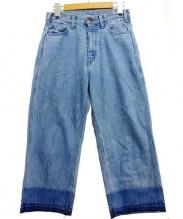 UNUSED(アンユーズド)の古着「デニムパンツ」|インディゴ