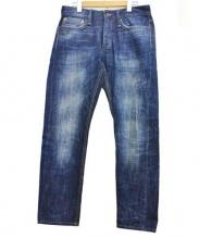 Denham(デンハム)の古着「セルビッチデニムパンツ」|インディゴ