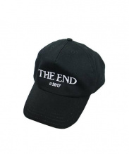 OFFWHITE(オフホワイト)の古着「THE WED刺繍キャップ」|ブラック
