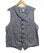 Engineered Garments(エンジニアド ガーメンツ)の古着「ショールカラーベスト」|グレー