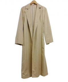 PLST(プラステ)の古着「モダールポリエステルワイドスリーブトレンチコート」|ベージュ