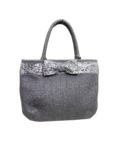 ANTEPRIMA(アンテプリマ)の古着「インカントラフィアバッグ」|グレー