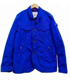 PEUTEREY(ピューテリー)の古着「Gジャンタイプブルゾン」|ブルー