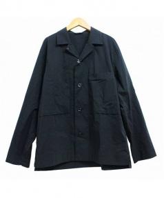 STILL BY HAND(スティルバイハンド)の古着「シャツジャケット」|ブラック