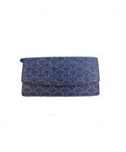 印傳屋(インデンヤ)の古着「長財布」|ネイビー