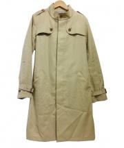 SHIPS(シップス)の古着「スタンドカラートレンチコート」 ベージュ