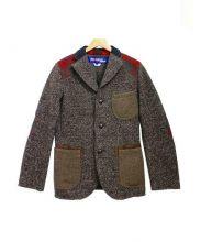 CDG JUNYA WATANABE MAN(コムデギャルソン ジュンヤワタナベ)の古着「ウールジャケット」|ブラウン