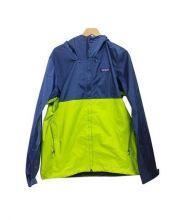 Patagonia(パタゴゴニア)の古着「18S/トレントシェルジャケット」|イエロー×ネイビー