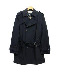 BURBERRY BLACK LABEL(バーバリー・ブラックレーベル)の古着「トレンチコート」|ブラック