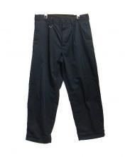 SOPH.(ソフ)の古着「1タックワイドパンツ」 ブラック