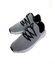 adidas(アディダス)の古着「DEERUPT RUNNER」|ホワイト×ブラック
