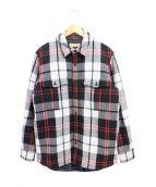 BURBERRY(バーバリーズ)の古着「CPOシャツジャケット」|ブラック