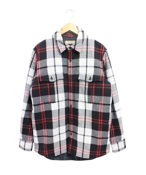 BURBERRY(バーバリー)BURBERRY (バーバリー) 中綿シャツジャケット ブラック サイズ:Mの古着・服飾アイテム