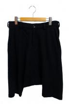 BLACK COMME des GARCONS(ブラックコムデギャルソン)の古着「サルエルハーフパンツ」