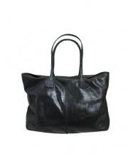 TUSTING(タスティング)の古着「レザートートバッグ」|ブラック