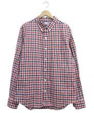 MONCLER GAMME BLEU(モンクレールガムブルー)の古着「ギンガムチェックシャツ」|トリコロールカラー