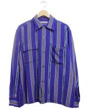 7×7 SEVEN BY SEVEN(セブンバイセブン)の古着「グアテマラシャツ」|ネイビー