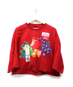 doublet(ダブレット)の古着「AND-PRINT T-SHIRT」|レッド