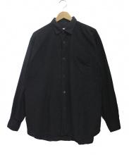 COMOLI(コモリ)の古着「ベタシャン シャツ」|グレー