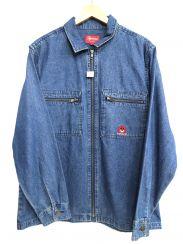 SUPREME(シュプリーム)の古着「Vampire Denim Zip Up Shirt Jac」