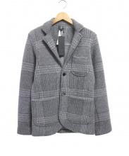 GRAY(グライ)の古着「ウールジャケット」|グレー
