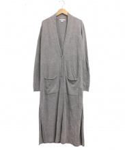 BAREFOOT DREAMS(ベアフット ドリームス)の古着「ロングカーディガン」|ブラウン