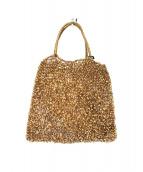 ANTEPRIMA(アンテプリマ)の古着「ミニワイヤーバッグ」|ゴールド