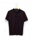 PRADA(プラダ)の古着「ポロシャツ」|パープル