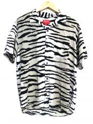 SUPREME(シュプリーム)の古着「Tiger Stripe Rayon Shirt」