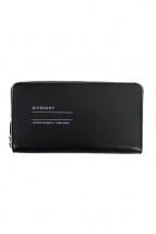 GIVENCHY(ジバンシィ)の古着「ラウンドジップ財布」|ブラック