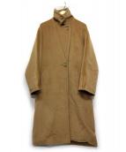 Max Mara(マックスマーラ)の古着「カシミヤ混コート」|ベージュ