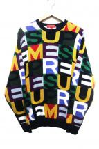 Supreme(シュプリーム)の古着「レターズセーター」|マルチカラー