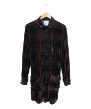 SHAREEF(シャリーフ)の古着「ロングチェックシャツコート」