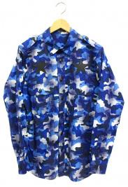 GUILD PRIME(ギルドプライム)の古着「カモフラシャツ」