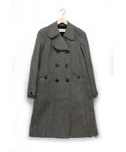 Christian Dior(クリスチャン ディオール)の古着「クラシックロングコート」|ブラック