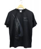 BLACK COMME des GARCONS(ブラック コムデギャルソン)の古着「NIKE/Tシャツ」