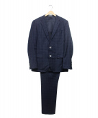 BOSS HUGO BOSS(ボス ヒューゴ ボス)の古着「ピンチェック2Bスーツ」