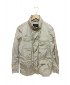 PEUTEREY(ピューテリー)の古着「ナイロンM-65ジャケット」|ベージュ