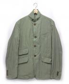 MINOTAUR(ミノトール)の古着「wrinkles 3B jacket」|オリーブ