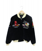 TED COMPANY(テッドカンパニー)の古着「ベロアリバーシブルスカジャン」