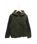KATO(カトー)の古着「別注コーティングフーデッドジャケット」