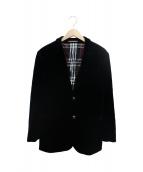 BURBERRY BLACK LABEL(バーバリーブラックレーベル)の古着「ベロアジャケット」
