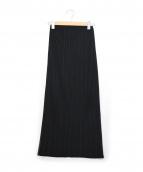 PLEATS PLEASE(プリーツ プリーズ)の古着「プリーツスカート」|ブラック
