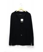 INTERMEZZO(インターメッツォ)の古着「ニットジャケット」|ブラック