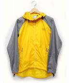 ()の古着「ナイロンフーデットジャケット」|グレーー×イエロー