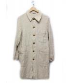 45R(フォーティファイブアール)の古着「コットンショップコート」 ベージュ