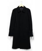 UNDERCOVER(アンダーカバー)の古着「袖切替コート」|ブラック